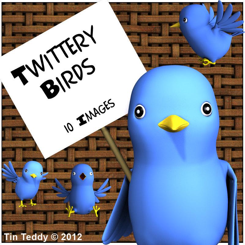 Flying Blue Bird Clip Art Birds Digital Clip Art